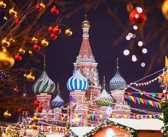Russia: Winter Wonderland And Christmas Markets