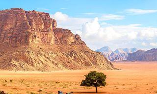 Jordan: Trek Jordans Natural Wonders