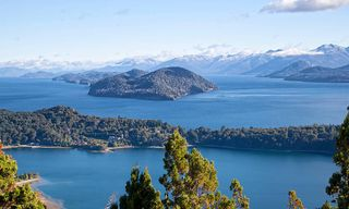 Argentina: Andean Lake Crossing