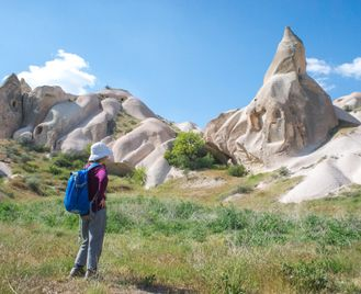 Walking In Cappadocia