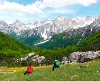 Walking In Albania