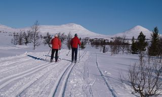 Cross-Country Skiing In Venabu