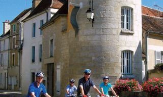 Classic Burgundy Self-Guided Cycling