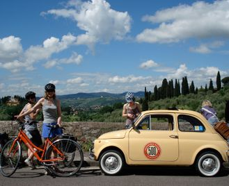 Self-Guided Cycling In Tuscany: Pisa To Florence