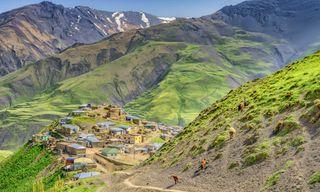 Azerbaijan Caucasus Walking