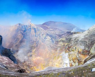 Sicilian Volcano Hike With Luca Cosma