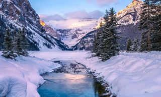 Winter in the Rockies