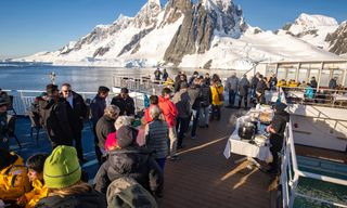 Antarctic Express: Crossing the Antarctic Circle from Punta Arenas