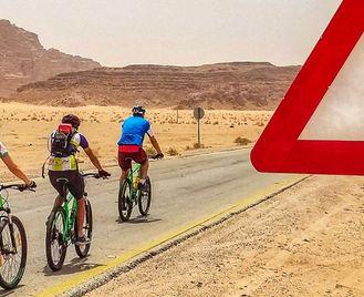 Cycle Jordan: Petra & Wadi Rum