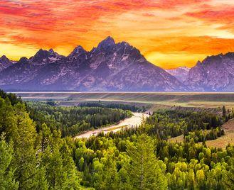 Best of Yellowstone, Grand Tetons & Mt Rushmore