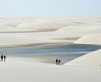 Off The Beaten Track Brazil: Dunes And Lagoons Of Lencois Maranhenses