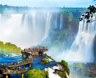 Family Brazil: Waterfalls, Rivers And Rainforests