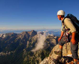 Across the Julian Alps to Triglav
