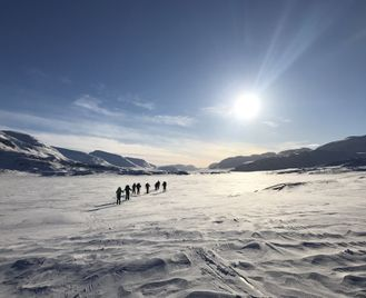 Inside the Arctic Circle - Skiing the Kings Trail