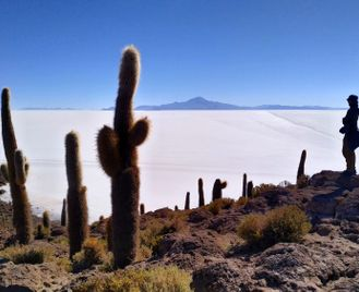 Salt Flats and Volcanoes of Bolivia