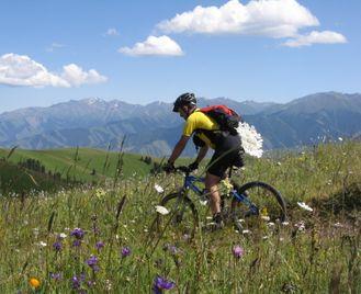 Cycling in Kazakhstan