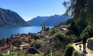 Self-Guided Walking on Lake Como