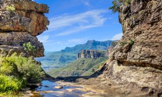 Walking the Drakensberg and the Wild Coast of South Africa