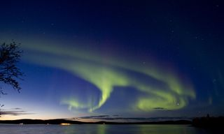 Finnish Lapland Autumn Aurora