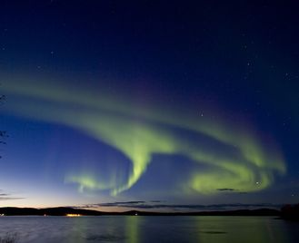 Finnish Lapland Autumn Aurora