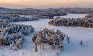 Luxury spa and wilderness break to Swedish Lapland