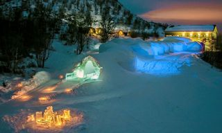 Romantic escape to Kirkenes Northern Norway