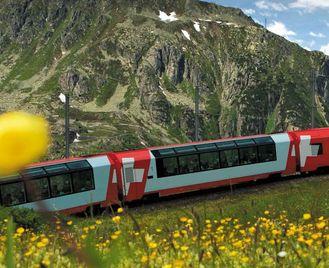 Alpine Railway Journey