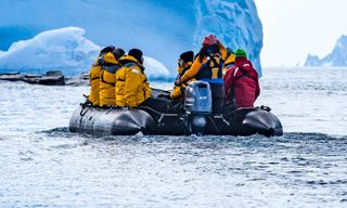 Journey to the Antarctic Circle
