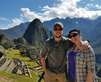 Sunrise at Machu Picchu