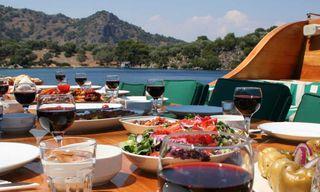 A Gastronomic Gulet Cruise in Turkey