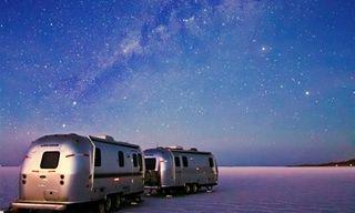 Uyuni Salt Flats By Luxury Airstream Camper