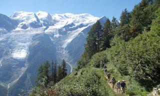 Mont Blanc Hotel Trek
