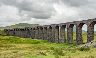 Walking From The Settle And Carlisle Railway