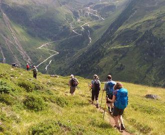 The Stubai And Brandenberg Alps