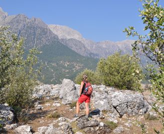St Paul's Trail And The Taurus Mountains