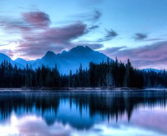 Canadian Rockies And Vancouver Island