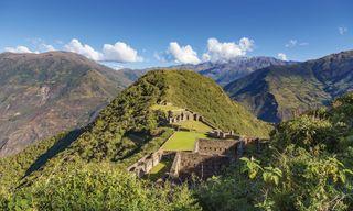 Choquequirao And Machu Picchu