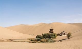 Along The Silk Road Of China