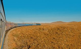 Moscow-Beijing Non-Stop Trans-Siberian Railway