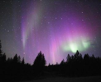Autumn Auroras At Wilderness Hotel Inari