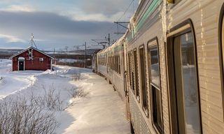 Arctic Circle By Rail
