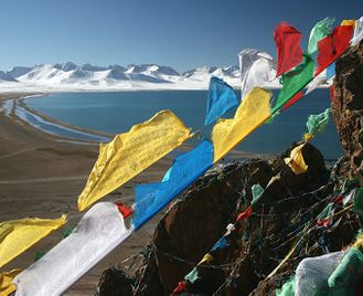 Mountains and Monasteries in Tibet