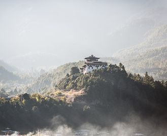 Between Nepal and Bhutan