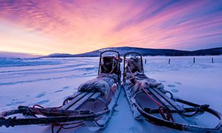 The ICEHOTEL and a wilderness escape in Swedish Lapland