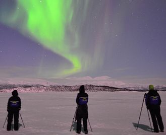 In search of the Northern Lights at the ICEHOTEL