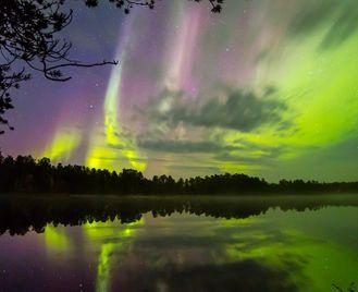 Wilderness Hotel Inari - Autumn Lights Over Lake Inari
