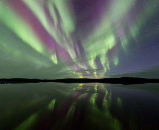 Menesjarvi - Wilderness Auroras during the Finnish Autumn