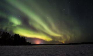 Rovaniemi - Arctic Aurora hunt at Apukka