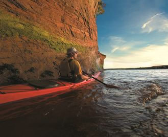Sea Kayaking the New Brunswick Coast - 2 Nights